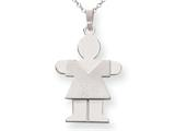 The Kids® Girl Charm / Pendant Necklace style: XK111SS