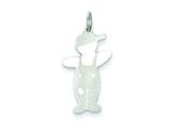 <b>Engravable</b> Finejewelers Sterling Silver Spunky Cuddle Charm style: XK1813SS
