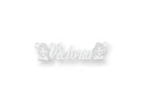 Personalized Disney Jasmine Nameplate (up to 9 Letters) - Chain Included style: XNA468SS