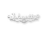 Personalized Disney Ariel Nameplate (up to 9 Letters) - Chain Included style: XNA473SS