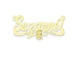 Personalized Disney Snow White Nameplate (up to 9 Letters) - Chain Included style: XNA478GP
