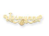 Personalized Disney Aurora Nameplate (up to 9 Letters) - Chain Included style: XNA483GP