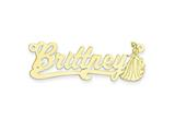 Personalized Disney Cinderella Nameplate (up to 9 Letters) - Chain Included style: XNA486GP