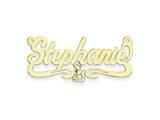 Personalized Disney Cinderella Nameplate (up to 9 Letters) - Chain Included style: XNA487GP