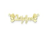 Personalized Disney Cinderella Nameplate (up to 9 Letters) - Chain Included style: XNA489GP