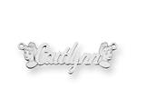 Personalized Disney Cinderella Nameplate (up to 9 Letters) - Chain Included style: XNA489SS