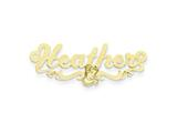 Personalized Disney Belle Nameplate (up to 9 Letters) - Chain Included style: XNA491GP