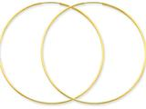 Finejewelers 14k Yellow Gold 1.25mm Endless Hoop Earring style: XY1214