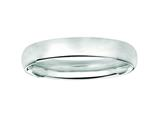Finejewelers 14kt White Gold 3.5mm Hollow Lightweight Wedding Band / Ring style: 460216