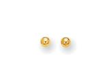 Finejewelers 10 Kt Yellow Gold 10k 5mm Ball Stud Earrings style: 472101