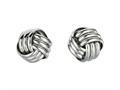 Finejewelers Sterling Silver Love Knot Earrings 11mm