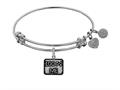 Brass With White Finish 100% Me Charm For Angelica Collection Bangle