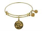 Brass With Yellow Finish Class Of 2016 Graduation Cap+diploma Charm For Angelica Collection Bangle Style number: GEL1323