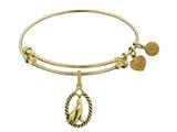 Brass With Yellow Seal Charm For Angelica Collection Bangle style: GEL1361