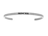 "Intuition Stainless Steel ""princess""Cuff Bangle style: INT5035"