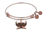 Brass With Pink Finish In Loving Memory Of Dad Cha Rm For Angelica Collection Bangle style: PGEL1794