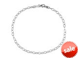 Sterling Silver 10 Inches Ankle Bracelet style: 460171