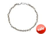 Sterling Silver 9 Inches Ankle Bracelet style: 460359