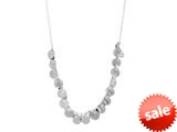 Finejewelers Sterling Silver Gypsy Ladies Necklace style: 460395