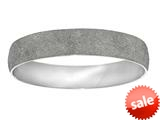 Stainless Steel with White Glitter Finish Slip On Bracelet style: 460451