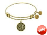Angelica Collection Delta Gamma Expandable Bangle style: GEL1228