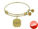 Angelica Collection Pi Beta Phi Expandable Bangle style: GEL1235