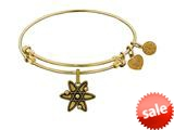 Brass With Yellow Finish Atom Charm For Angelica Collection Bangle style: GEL1348