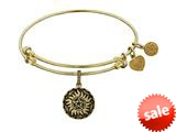 Brass Yellow Supernatural Anti-possession Symbol Charm For Angelica Collection Bangle style: GEL1770