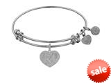 Angelica Collection Betty Love Expandable Bangle style: WGEL1243