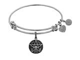 Brass White Supernatural Saving People, Hunting Thing Charm For Angelica Collection Bangle style: WGEL1771