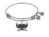 Brass With White Finish In Loving Memory Of Mom Ch Arm For Angelica Collection Bangle style: WGEL1795