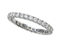 Finejewelers Round Diamonds Eternity Band - IGI Certified
