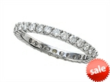 Finejewelers Round Diamonds Eternity Band - IGI Certified style: SK4414
