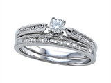 Round Diamonds Wedding Engagement Ring Set - IGI Certified style: SK11575