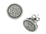 Genuine Round Diamonds Earrings style: SK9282