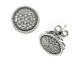 Genuine Round Diamonds Earrings style: SK9282