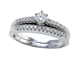 Round Diamonds Wedding Engagement Ring Set - IGI Certified style: SK9306