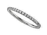 Finejewelers Round Diamonds French Pave Eternity Band style: 2121C