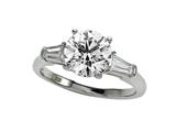 Finejewelers Diamond Baguette Ring (Center Not Included) style: 4965