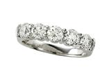 Finejewelers Diamond Round Partial Way Band style: 4977