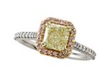 Natural Fancy Yellow Engagement Ring style: 4979