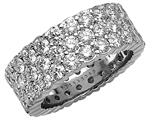 Karina B™ Round Diamonds Eternity Band style: 8274