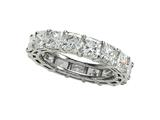Karina B™ Diamond Square Radiant All Around Band style: 8386
