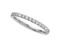 Finejewelers Round Diamonds French Pave Eternity Band