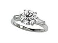 Finejewelers Diamond Baguette Ring (Center Not Included)