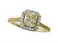 Natural FY Diamond Ring