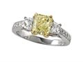Natural FY Diamond Ring