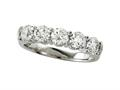 Finejewelers Diamond Round Partial Way Band