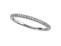 Diamond Round Pave Band