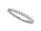 Finejewelers Round Diamonds French Pave Eternity Band Style number: 2049